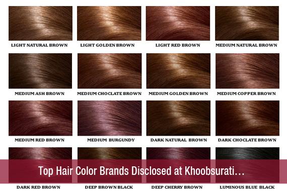 Top Hair Color Brands Disclosed at Khoobsurati…khoobsurati