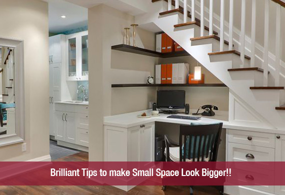 Awesome Brilliant Tips To Make Small Space Look With How To Make Small  Bedroom Look Bigger.