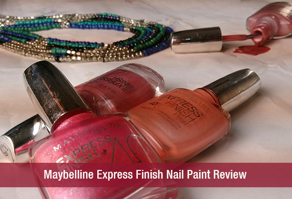 Maybelline Express Finish Nail Paint Review