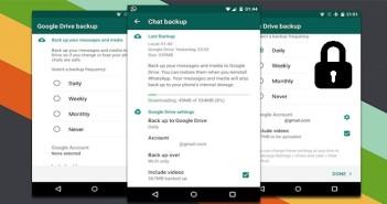Save Your Whatsapp Backup on Google Drive