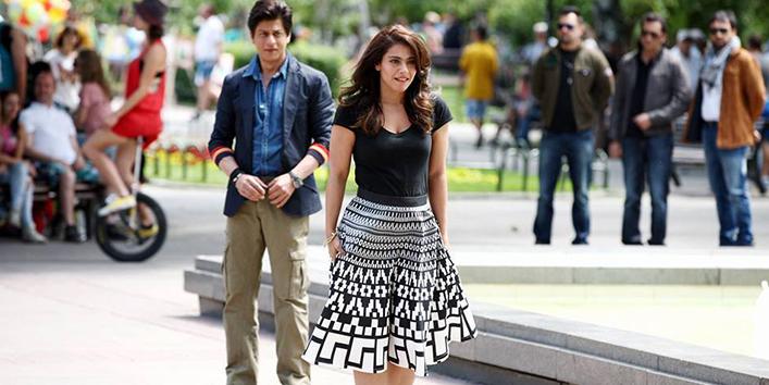Image dilwale kajol dress