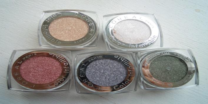 L'Oréal Paris Infallible Eye Shadows