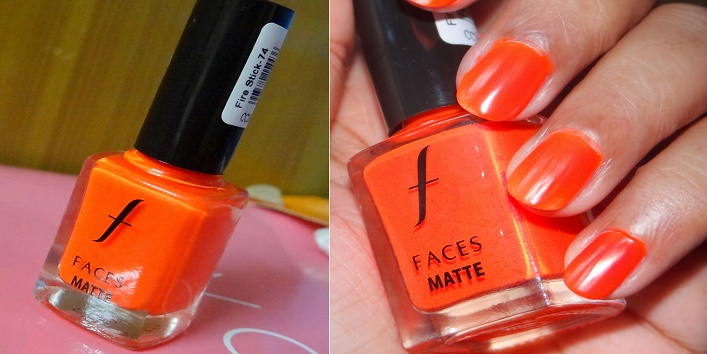 nail color faces