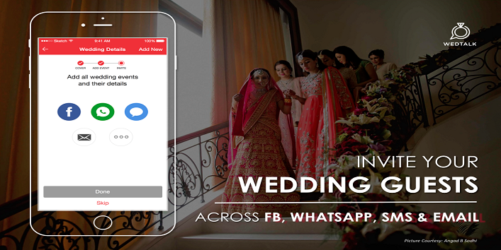 """This """"WedTalk"""" app is Perfect for DIY Wedding Invite3"""