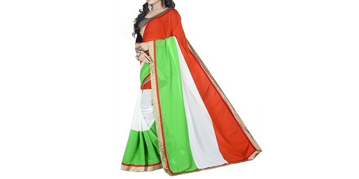 Dress in Tricolour3