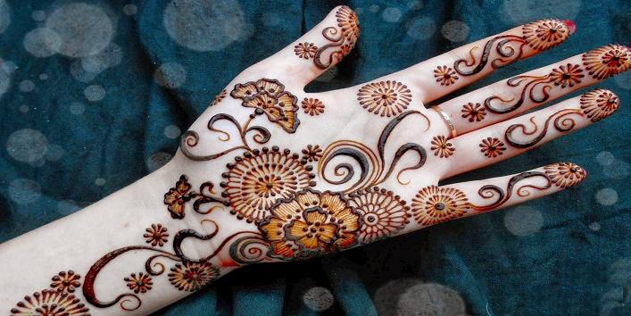Floral Mehndi Designs3