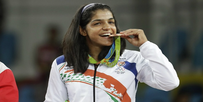 P.V. Sindhu,Saina Nehwal,Mary Kom,Karnam Malleswari,Sakshi Malik1
