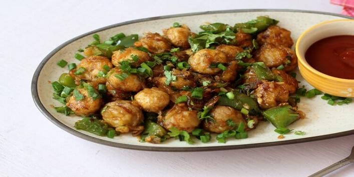 Mushroom Manchurian1