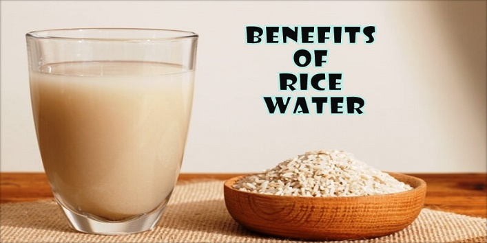 Benefits of starch water