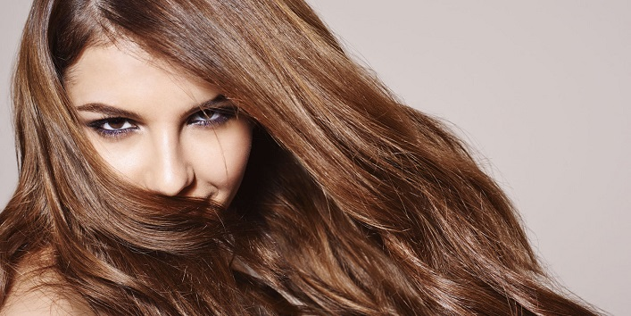 Honey for beautiful and lustrous hair
