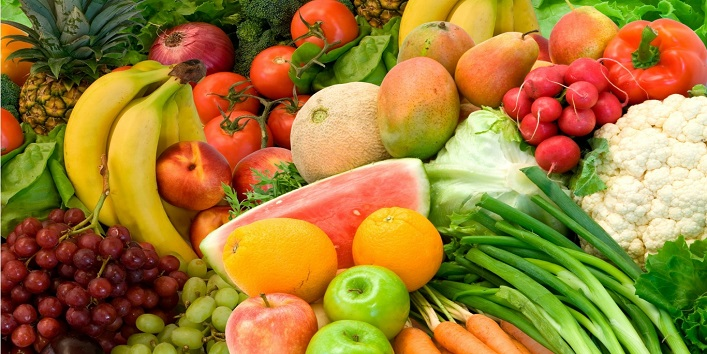 Eat more veggies and fruits