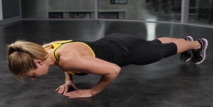 Go for push-ups