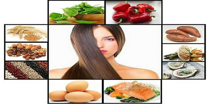 Right food for healthy hair