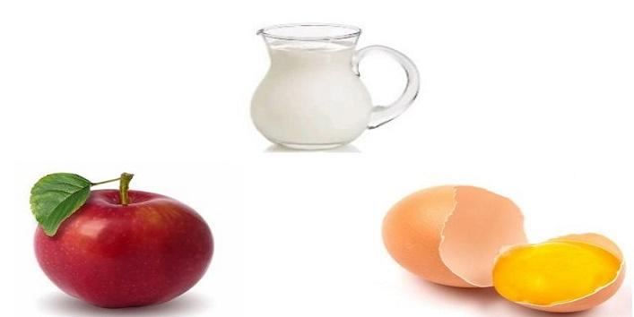 Egg-yolk-and-apple-face-mask