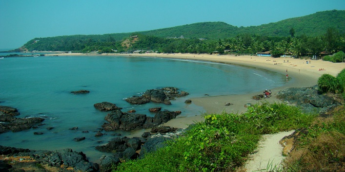 Gokarna beach in india