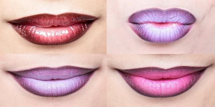 Omber lips