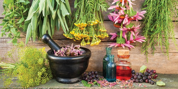Rely more on natural and herbal remedies
