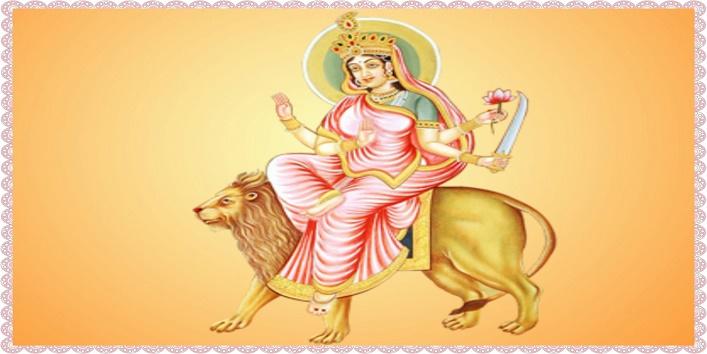 Goddess-Katyayani