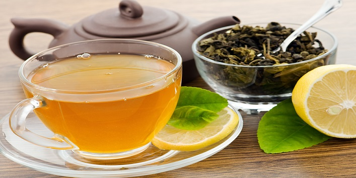 Drink tea made of herbs
