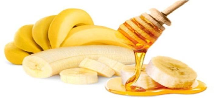 Honey-and-banana-pack