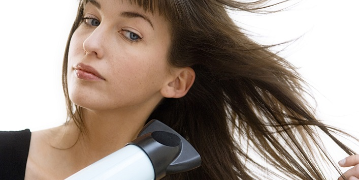 Dry your hair in the right way