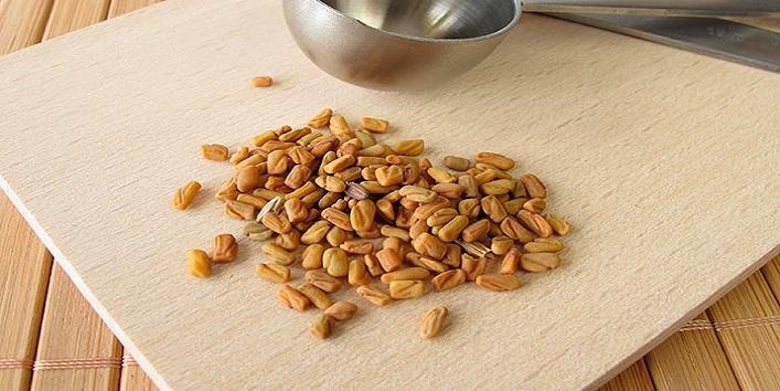 Fenugreek seeds to boost hair growth