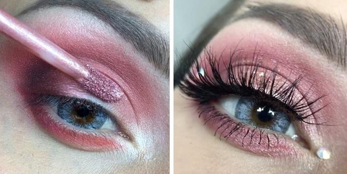As an eyeshadow