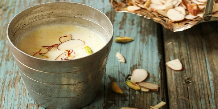 Hot Badam Milk