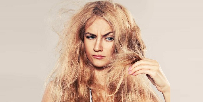 Treats damaged hair