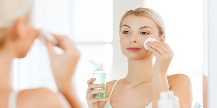 Use skin toners for soothing effects
