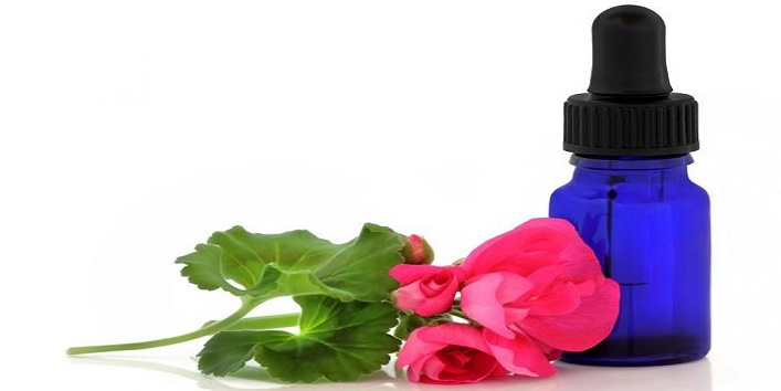 Geranium essential oil for younger looking skin