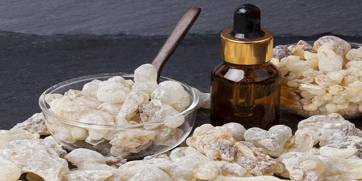 Frankincense essential oil for anti-aging process