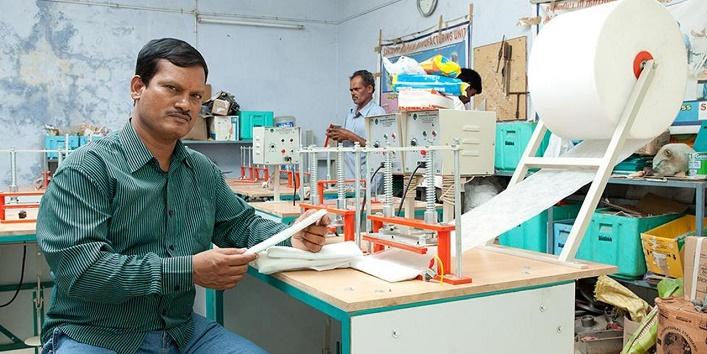 A bit about Arunachalam Muruganantham