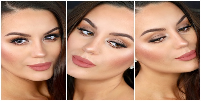 Opt for a dewy look