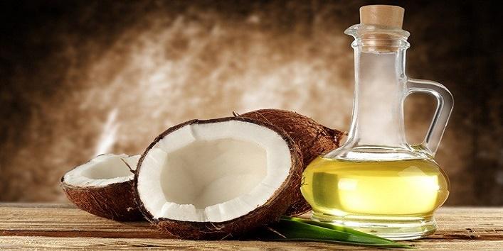 Coconut oil and yogurt mask