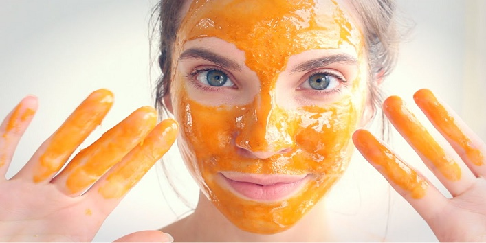 Honey and Ginger Face Pack