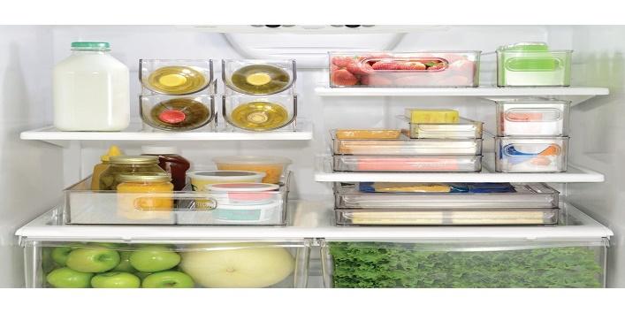 Organize jars using trays
