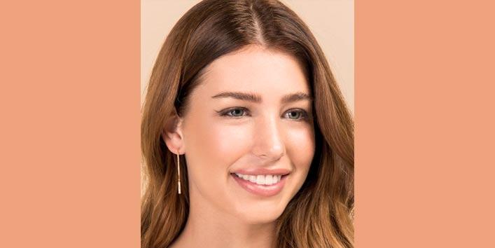 Look Elegant With Linear Drop Trendy Earrings