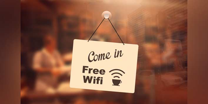 Stay Somewhere with Free Wi-Fi