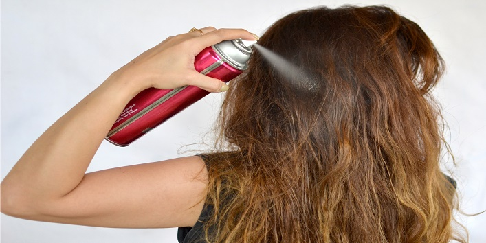 Limited use of hair styling products