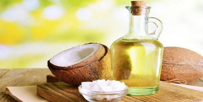 Coconut oil and egg white