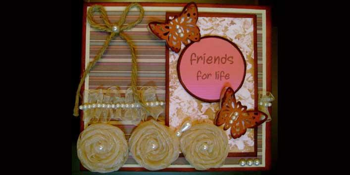 Handmade Friendship Day Card