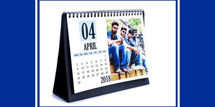Personalized Photo Calendar For Fashionista Friends
