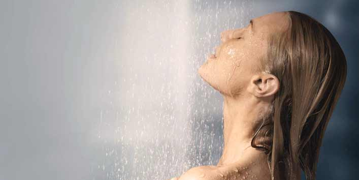 Use Lukewarm Water For Shower