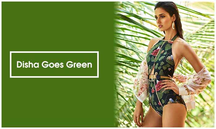 Disha Goes Green