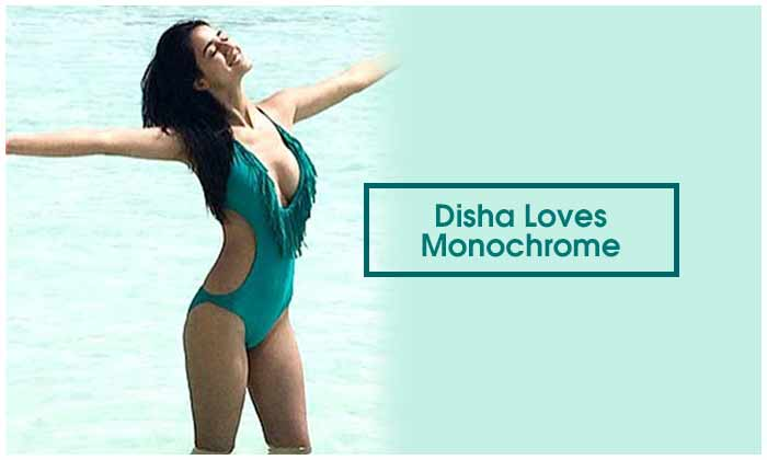 Disha Loves Monochrome