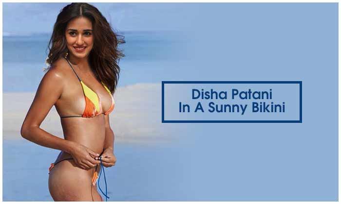 Disha Patani In A Sunny Bikini