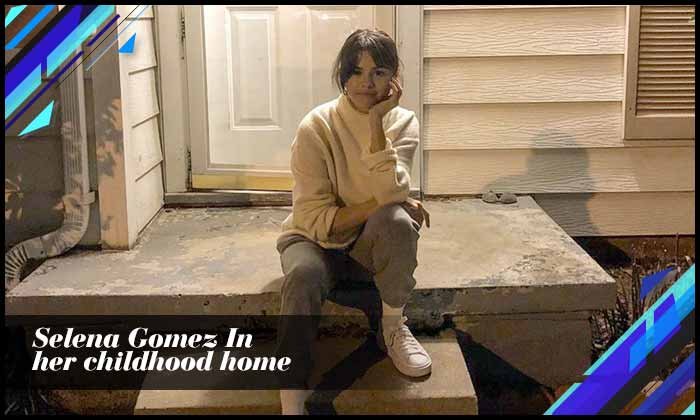 Selena Gomez In Her Childhood Home