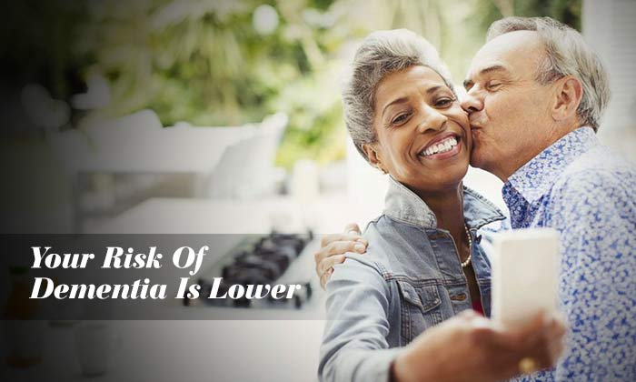 Your Risk Of Dementia Is Lower