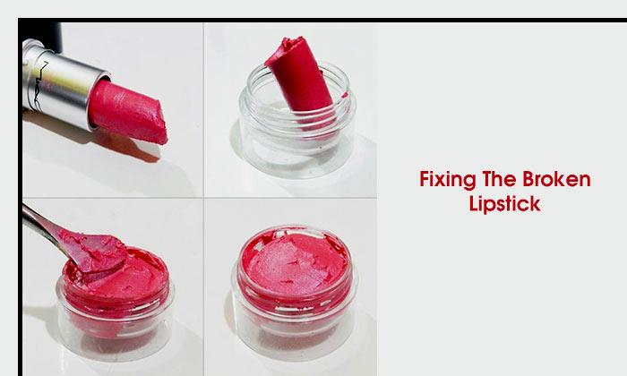 Fixing The Broken Lipstick